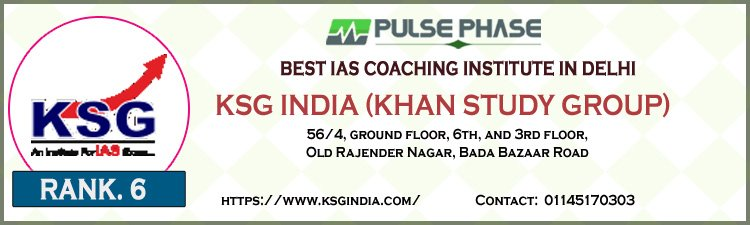 KSG India (Khan Study Group)