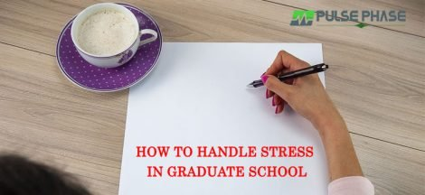 Handle Stress in Graduate School