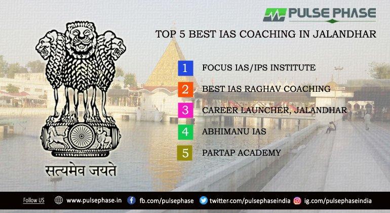Top 5 IAS Coaching in Jalandhar