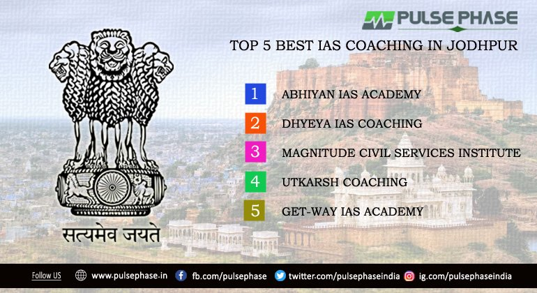 Top 5 IAS Coaching in Jodhpur