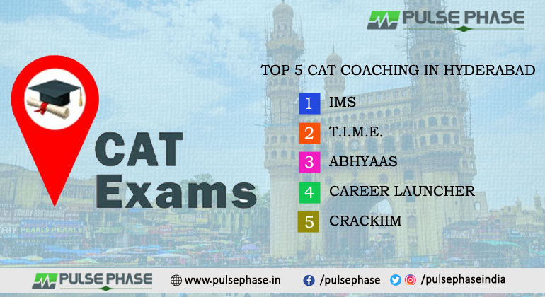 Top 5 CAT Coaching in Hyderabad, Best Coaching for CAT Exam Preparation