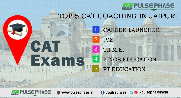 Top 5 CAT Coaching Institutes in Jaipur for Exam Preparation With Contact Details
